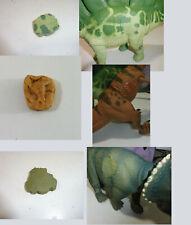 Jurassic Park kenner X3 LOT skin/flesh custom for dinosaur toys 1993