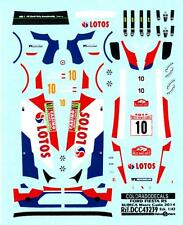Colorado Decals 1/43 FORD FIESTA RS Robert Kubica Monte Carlo 2014