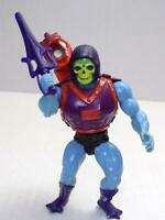 He-Man MOTU Dragon Blaster Skeletor Hard Head Squirting Backpack 1985 Rare