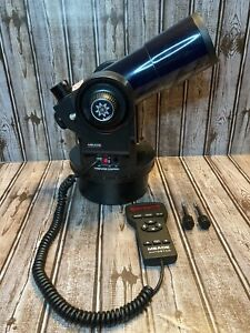 Meade ETX-70 AT Refractor Telescope For Parts Comes On But Needs Repair