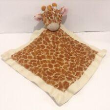 Baby Ganz Giraffe Security Blanket Lovey Plush Jamie Beige Tan Brown
