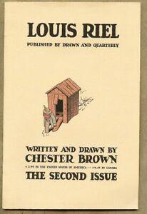 Louis Riel #2-1999 nm- 9.2 Indie / Underground Comic / Chester Brown