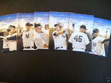 New York Yankees Baseball Pocket Vintage Sports Schedules
