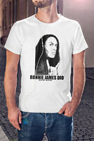 RONNIE JAMES DIO Men T-shirt Black Sabbath Tee Rainbow Shirt Elf Heaven & Hell