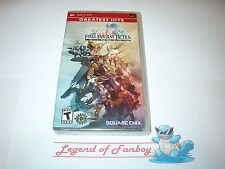 * New * Final Fantasy Tactics: War of The Lions - Sony PSP  PlayStation Portable