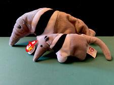 Ty Ants The Anteater Beanie Baby & Teenie Baby Mwmt Dob Nov 7, 1997 # 4195