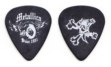 Metallica Winged Wheel Since 1981 Black Guitar Pick - 2004 St Anger Tour
