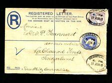 GB  1899. 5 P auf Reko Ganzsache  (#5823)