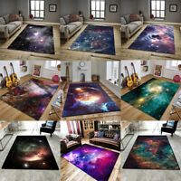 Star Sky Galaxy Nebula Non-slip Livingroom Kitchen Bathroom Floor Mat Rug Carpet