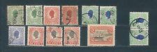 Danish West Indies Lot Sc 31 32by2 33by4 34 Used Mint Hr See Description Scan