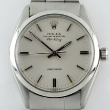 Rolex ♛ Air King Oyster Perpetual SS Men's Automatic Watch 5500 1979