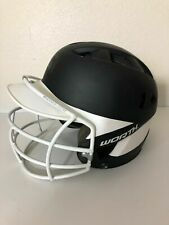 Worth Adult 60Mph Fastpitch Batting Helmet W/Facemask 6 1/2-7 1/2