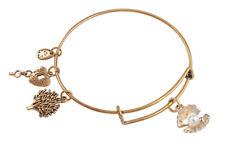 1PCS Fashion Expandable Wire Bangle Faux Peal Shell Charm Bracelet