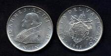 VATICANO Giovanni XXIII 500 Lire AG 1962  FDC (UNC)