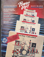 Power Up Accessory Software Catalog Winter 1985 23 pages PC Apple Computers