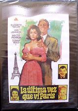 LA ÚLTIMA VEZ QUE VI PARÍS (ELISABETH TAYLOR - DONNA REED) - DVD - NUEVO