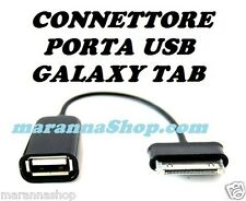 CAVO OTG GRG ADATTATORE CONNETTORE PORTA USB SAMSUNG GALAXY TAB TABLET NOTE 10.1