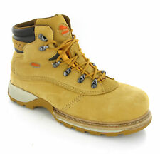 Workforce Waterproof Steel Toe Cap Safety Work Honey Leather Boots Mens UK 6-13