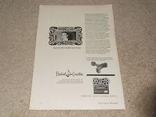 JBL Signature Model 375 Horn Ad, 1956, Concertone Reel, Article, 1 pg