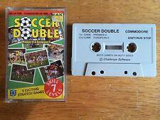 COMMODORE 64 (C64) - Fútbol Juego De Doble