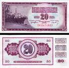 YUGOSLAVIA - 20 Dinara 1974 FDS UNC