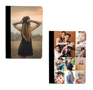 Personalised Case Custom Photo Collage Leather Flip Cover for Apple iPad