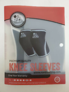 Nordic Lifting XL Premium Quality Knee Sleeves For Heavy Weight Lifting