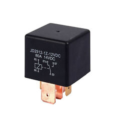 Arrival High Quality Relay Charge 5Pin Boat Car Split AMP Black DC 12V 80A