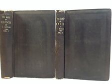 1852 DAYS OF BRUCE Complete Set of 2 Scotland England William Wallace Braveheart