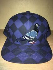 Staple Pigeon Royal Blue Checkered SnapBack Nwt 100% Authentic