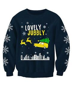 Lovely Jubbly Only Fools Adults Novelty Christmas Jumper Festive Sweatshirt