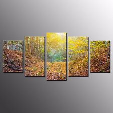 Framed HD Canvas Prints Landscape Oil Painting Wall Art for Offic-4pcs
