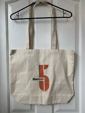 Maroon 5 Logo Canvas Tote Bag Promotional Souvenir