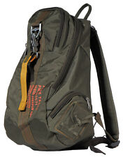 MFH PURE TRASH Rucksack mit Karabiner-Haken Backpack Nylon Oliv 25x25x45cm
