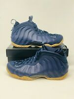 44278a47a4466 New Nike Air Foamposite One Navy Gum Size 10 (314996-405) FREE SHIPPING