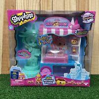 New Shopkins World Vacation USA SPK Hotdog Stand Shoppies Set Mini & Exclusive