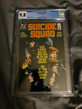 SUICIDE SQUAD #1. CGC 9.8. WHITE PAGES! FIRST ISSUE!