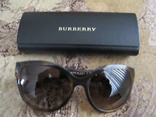 Burberry Sunglasses Tortoise Brown New with Box