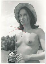 Nr,33163  Foto schöne  Frau  Busen Erotik  12,5  x 19 cm  um 1960