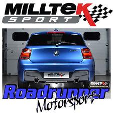 Milltek BMW M135i 3&5 Door F21 F20 Rear Silencer RACE Exhaust Titanium SSXBM1026