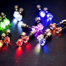 1PC A LED orecchino Chiaro si illumina Bling BORCHIE Festa Dance accessori