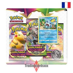 Pokémon - Tri Pack 3 boosters EB04 Épée et Bouclier Voltage Éclatant: Larméléon
