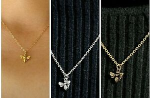 BUMBLE BEE Necklace ~ ONLY **£3.75** ~ UK FREE post ~ 4 Variations