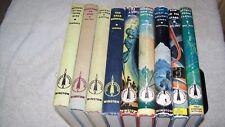 New ListingVintage Rare 9 Hb lot Winston Science Fiction 6 - 1st ed Sci Fi Wollheim Latham