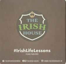 Beer Mat. The Irish House, New Delhi, India.