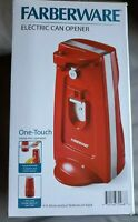Farberware Electric Can Opener Red 70W 120 V