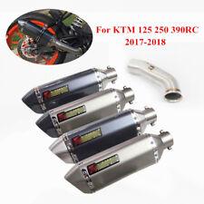 Slip On 2017-2020 Duke 125 250 390 Motorcycle Exhaust Pipe for KTM RC 390 51 mm