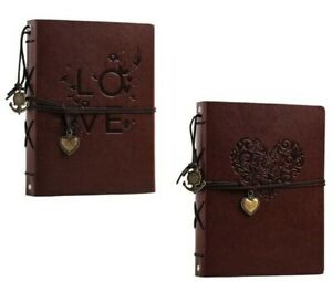 Vintage Photo Album 21.5x17cm Leather Scrapbooks Wedding Guest DIY Memories Book
