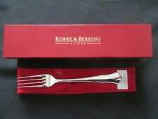 Robbe & Berking Alt Chippendale 925 echt Silber 1 Dessertgabel 18,2 cm Gabel NEU