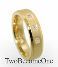 Diamond Yellow Gold Rings for Men